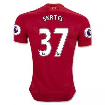 Liverpool 16-17 Martin Skrtel 37 Hemmatröja Kortärmad  #Fotbollströjor