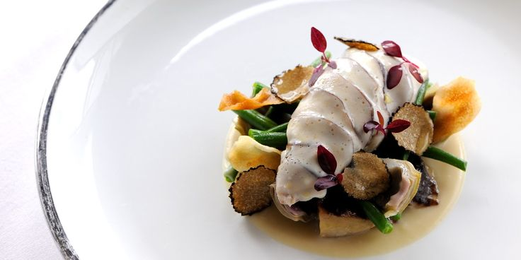 This partridge recipe is from Robert Thompson of The Hambrough. It pairs a…