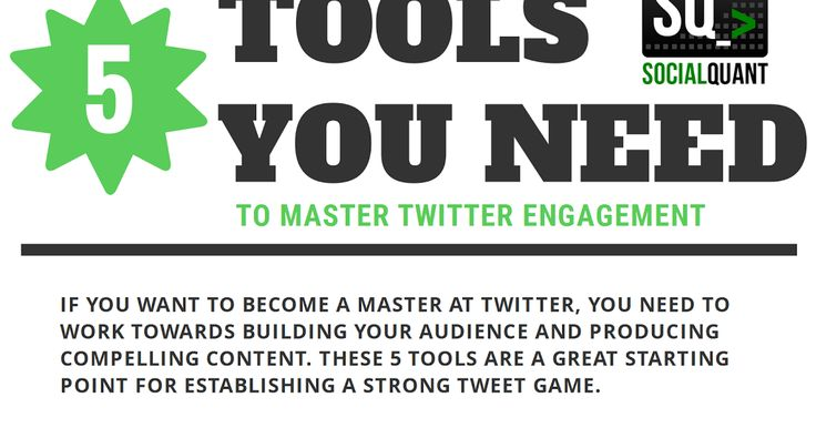 5 Tools You Need To Master Twitter Engagement