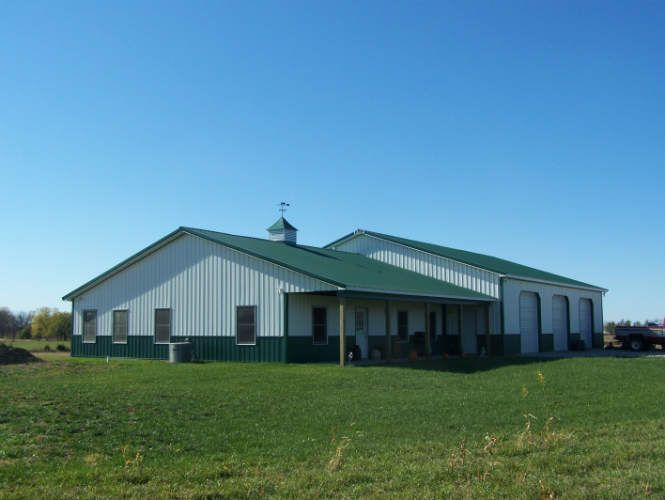 Metal homes residential steel homes steel buildings for Residential pole barn homes