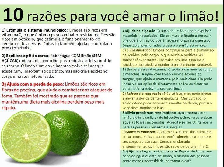 Razões para #amar o #limão. Saiba como fazer mais coisas em http://www.comofazer.org