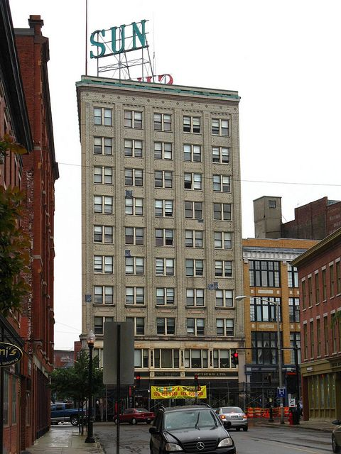 The Lowell Sun Newspaper Building, lowell ma   Lowell, Massachusetts