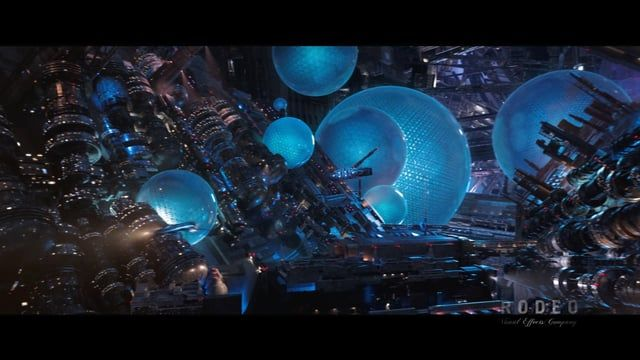 Here is the VFX breakdown about our work on Valerian.    Come visit our website for more informations and pictures:  https://www.rodeofx.com/en/projects/valerian-and-the-city-of-a-thousand-planets