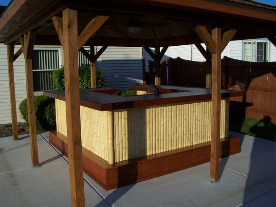 66 best images about tiki bar themes on pinterest retro renovation bar and exotic fruit - Bamboo bar design ideas ...