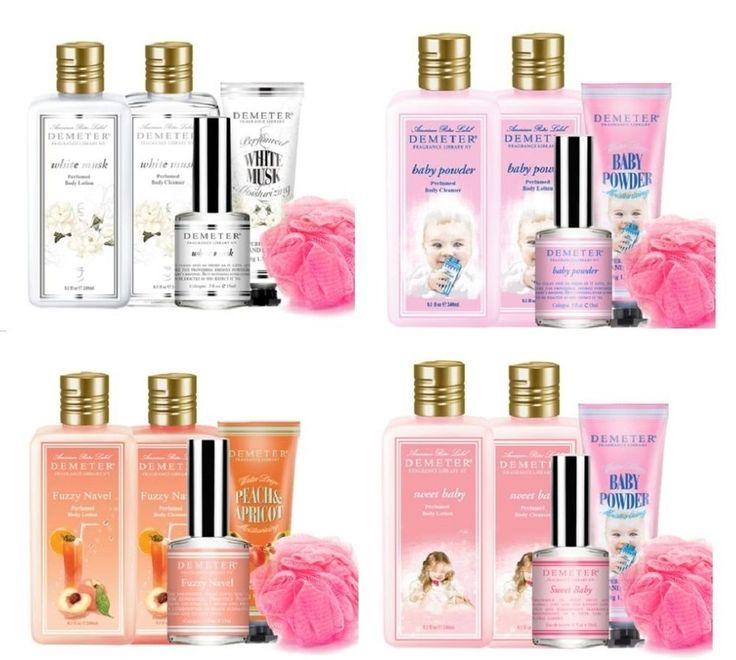 Demeter Body Set Perfume Body Lotion Shower Gel Hand Cream Shower Ball | eBay