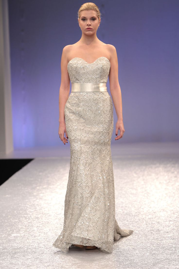 1000 images about silver ideas on pinterest for Silver and purple wedding dresses