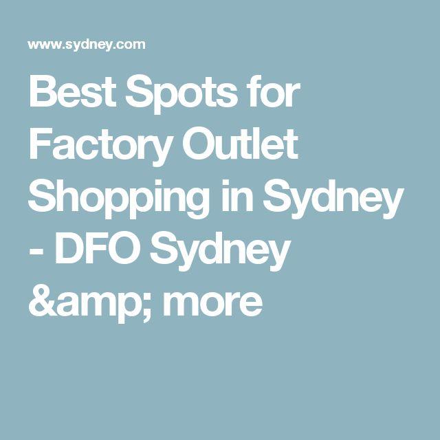 Best Spots for Factory Outlet Shopping in Sydney - DFO Sydney & more