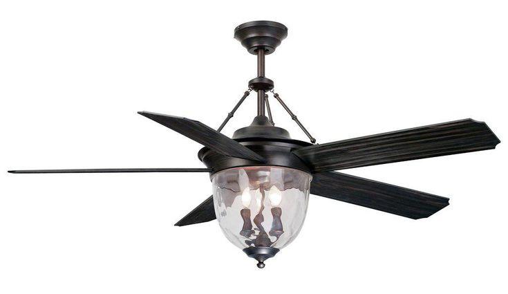 Vintage Black Ceiling Fan with Light Designs