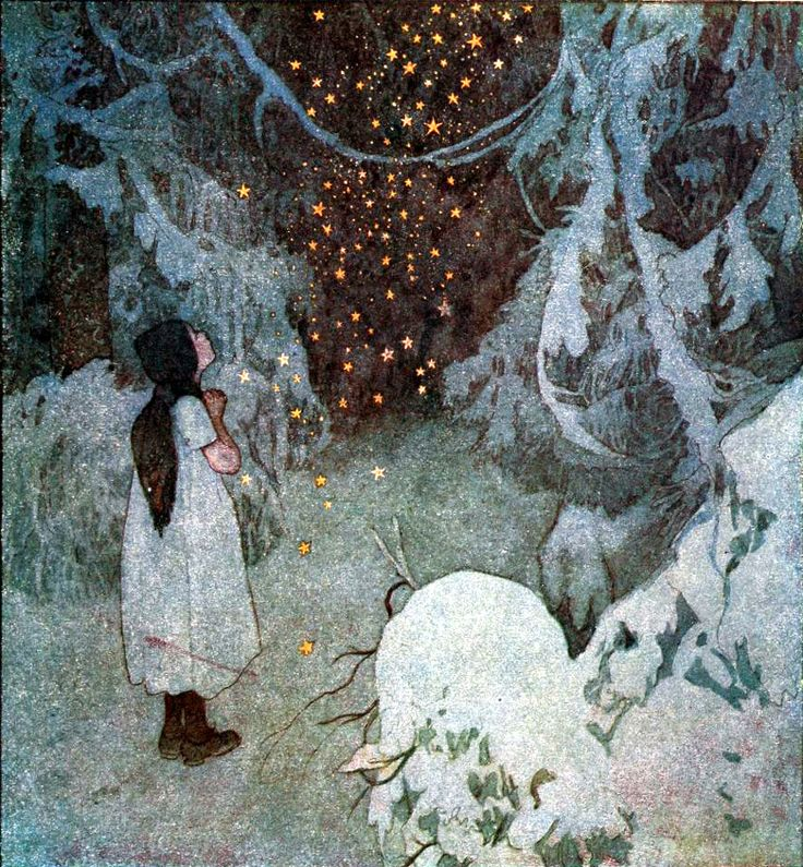 The disobedient children and other Czecho-Slovak fairy tales (1921) by Bozena Nemcová, illustrated by Artus Scheiner.
