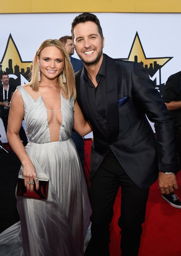 Pin for Later: Seht Taylor Swift, Nick Jonas und alle anderen Stars bei den ACM Awards Miranda Lambert und Luke Bryan
