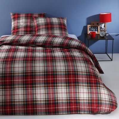 17 best images about home master room anglaise on pinterest floor cushions designers guild - Housse de couette tartan ...