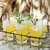 Pineapple Cooler - Uses up the pineapple and lemons from our baskets! :)