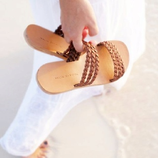 Valia Gabriel's greek sandals