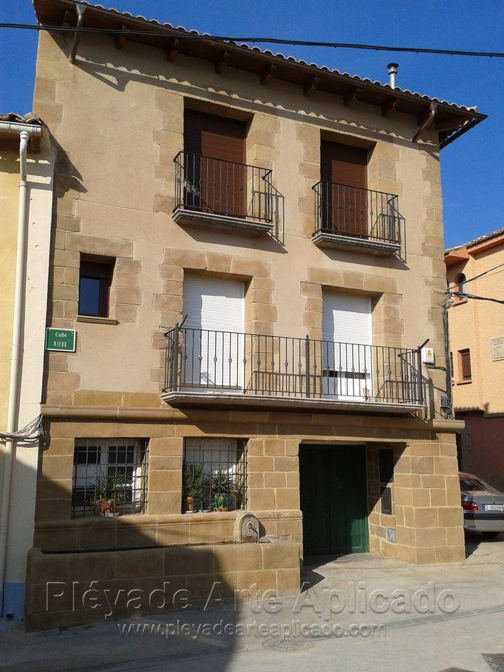 17 best images about decoraci n en viviendas on pinterest - Piedra artificial fachadas ...