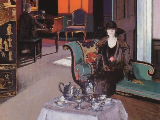tea-time de Francis Campbell Cadell