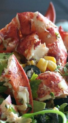 Summer Is Almost Here Lobster Salad