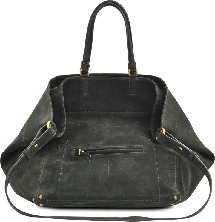 Jacques M goatskin nubuck bag