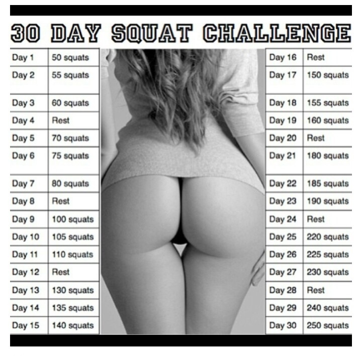 I've been challenged! Megan D. I've GOT THIS! 3/21/13=day one. Anyone else care to join us? I'll even take booty before & afters! Lol! Let's SQUAT!