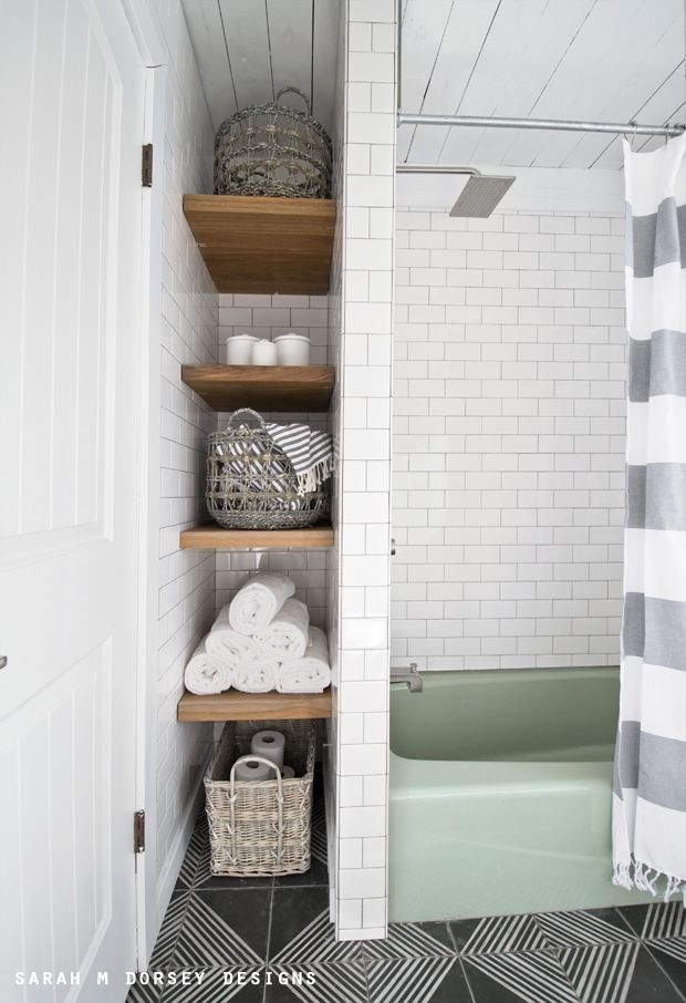 These Bathroom Storage Solutions Are Serious Game Changers
