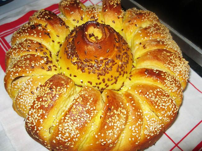 Sunflower bread / Pogača suncokret