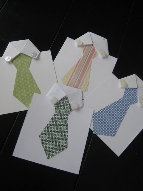 Ginger Snap Crafts: fab friday {father's day gift ideas x three} - Shirt and Tie Father's Day Card By: Ginger from Ginger Snap Crafts