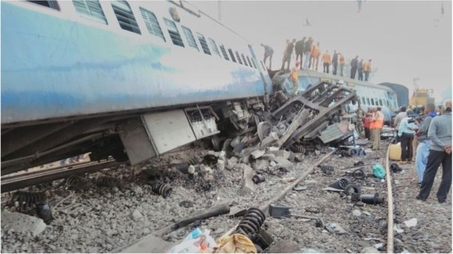 Στους 36 οι νεκροί από τον εκτροχιασμό τρένου στην Ινδία: Στους 36 ανέβηκε ο αριθμός των νεκρών από τον εκτροχιασμό αμαξοστοιχίας στη νότια…