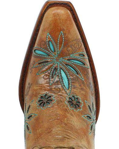 07b7c63af Shyanne Women's Daisy Mae Cowgirl Boots - Snip Toe, Cognac, hi-res ...
