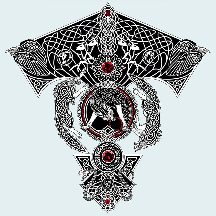 Sagas of old. Possible design element into back of Breast plate or for Pauldron/arm armor metal plate design.