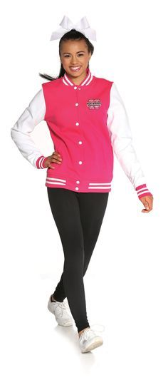 VARSITY HOODIE/LEGGING SET: Show your spirit in this throwback jacket that has been paired with a legging with a perfect length. Jacket features 2x2 ribbed collar, cuffs & waistband with snap front closures & front slash pockets. Love 'Em Legging's are made with 95% cotton/5% spandex. #cheerleading #cheer #team #athlete #fitness #sports #uniforms #spiritwear