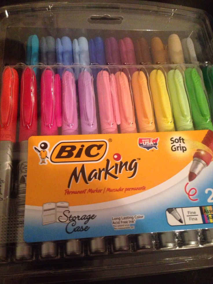 NEW MARKERS!!!!! YAY!!!