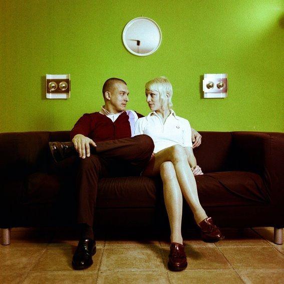 skinhead couple