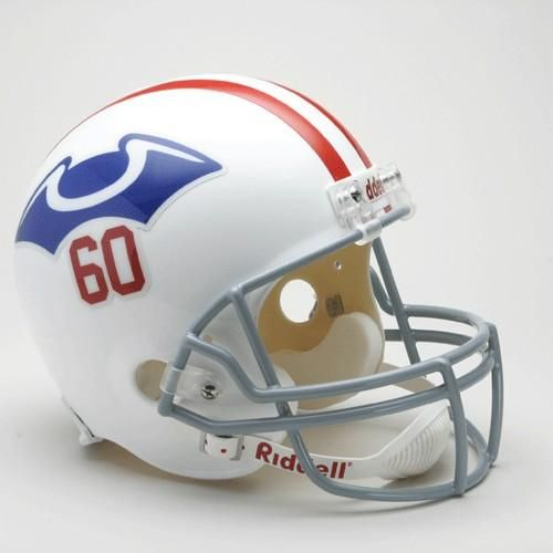 New England Patriots Helmet Riddell Replica Full Size VSR4 Style 1960 Throwback