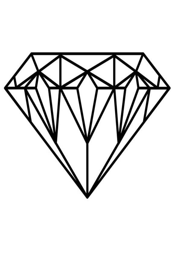 Diamond Shape Expensive Diamond Shape Coloring Pages Diamond Drawing Shape Coloring Pages Diamond Tattoo Designs