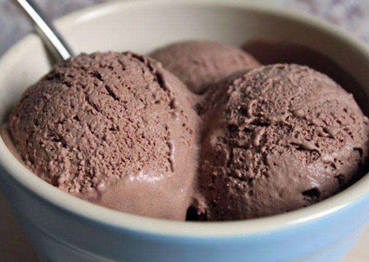 Παγωτό κακάο-καρύδα