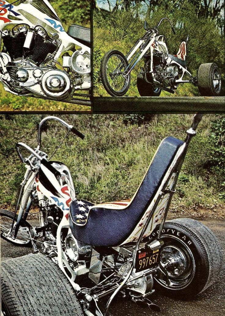 Buddy Miles Harley chopper trike pictures