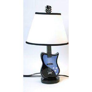 84 best Guitar Inspired Lamps images on Pinterest | Guitars ...