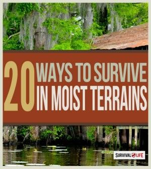 Survival guide and ideas on how to survive in swamps and marshland.   http://survivallife.com/2015/01/26/outdoor-survival-in-swamps/