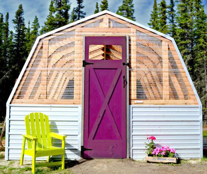 You Could Have One of These Gorgeous DIY Greenhouses in Your Yard Come Springtime - blessings.com