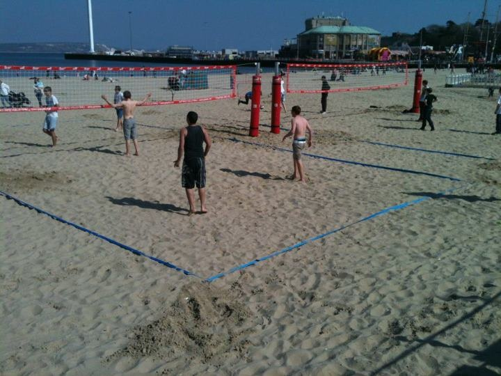Weymouth Beach Volleyball