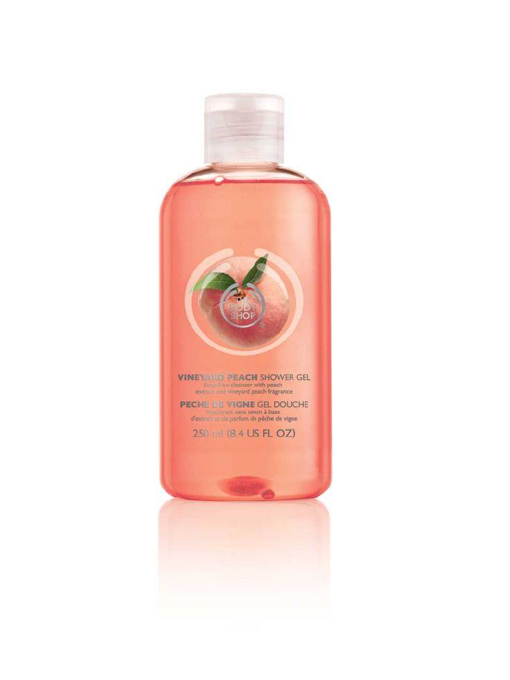 The Body Shop Vineyard Peach Shower Gel $16