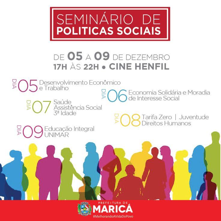 Seminário de Políticas Sociais no Cinema Henfil