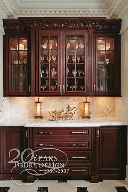 Pin by claudeus gothicus on household kitchens pinterest - Drury design kitchen bath studio ...