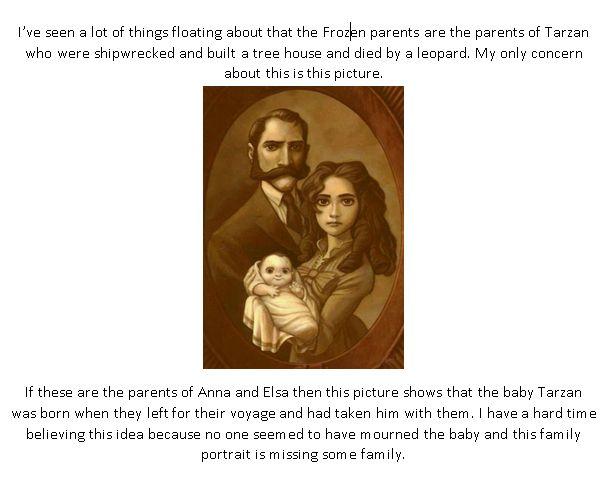 maybe not Tarzan's parents