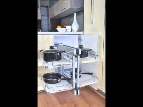 Pull out unit for straight corners, Anti scratch stainless base, Extremely silent in operation Tested for 1 lakh cycles with soft closing mechanism, 40 kgs carrying capacity (uniform loading) No left or right -- its universal mechanism, 4 no. of Baskets. (http://www.inoxdecor.com)