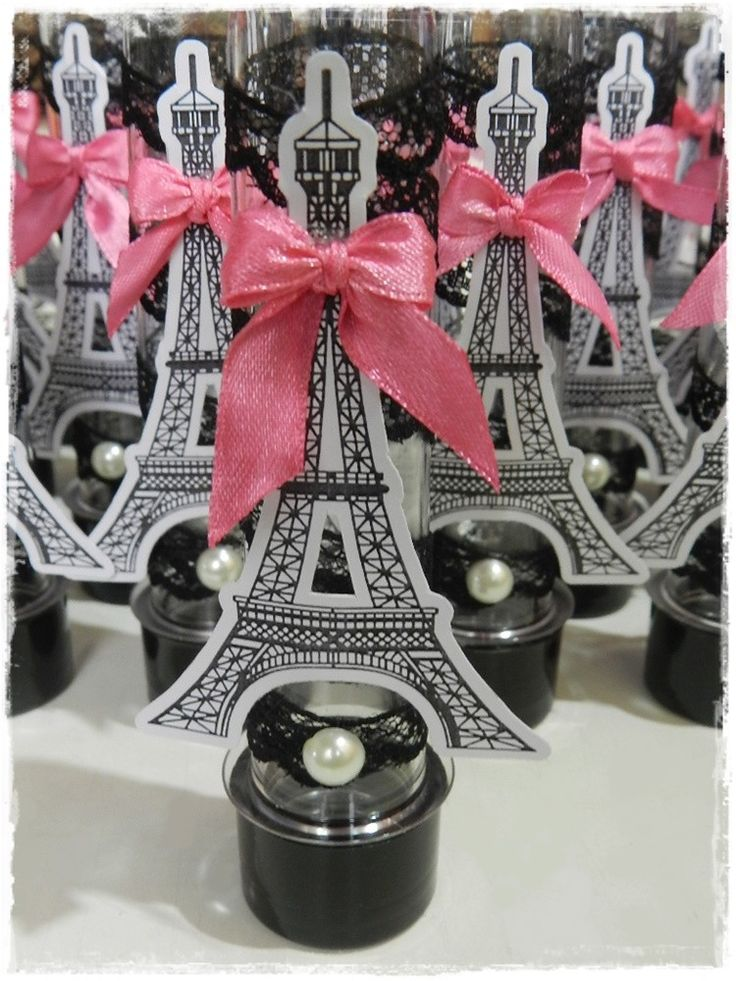 Kit Água e Tubete Personalizado Paris