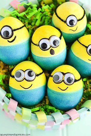 Пасхальные яйца - Миньоны, которые дети будут любить (Руководство по эксплуатации)