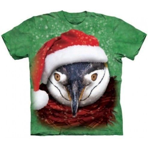 Tricou Craciun Chilly Penguin