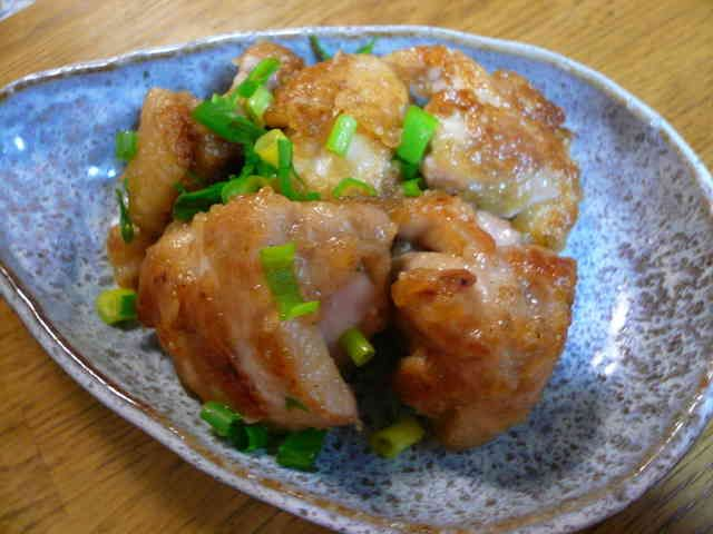 食べ過ぎ注意☆鶏肉のねぎマヨポン炒めの画像