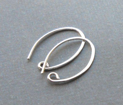 Oval Ear Hooks