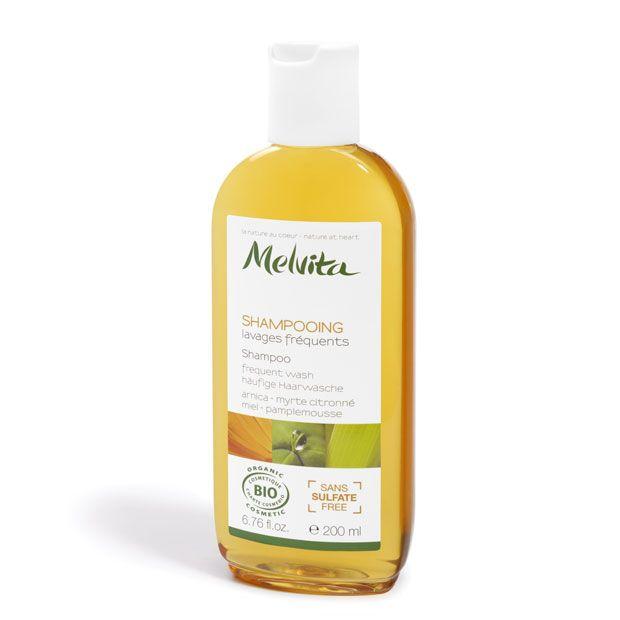 Shampooing lavages fréquents certifié bio sans sulfate